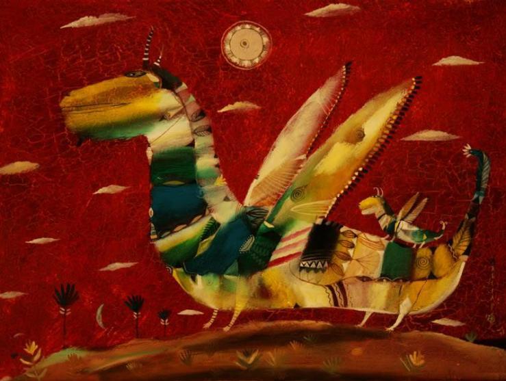 arseniy lapin dragon artwork